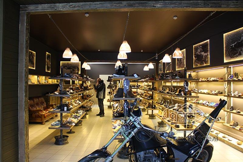 матові коричневі натяжні стелі магазин сандаль