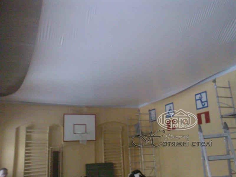 матові стелі спорт зал